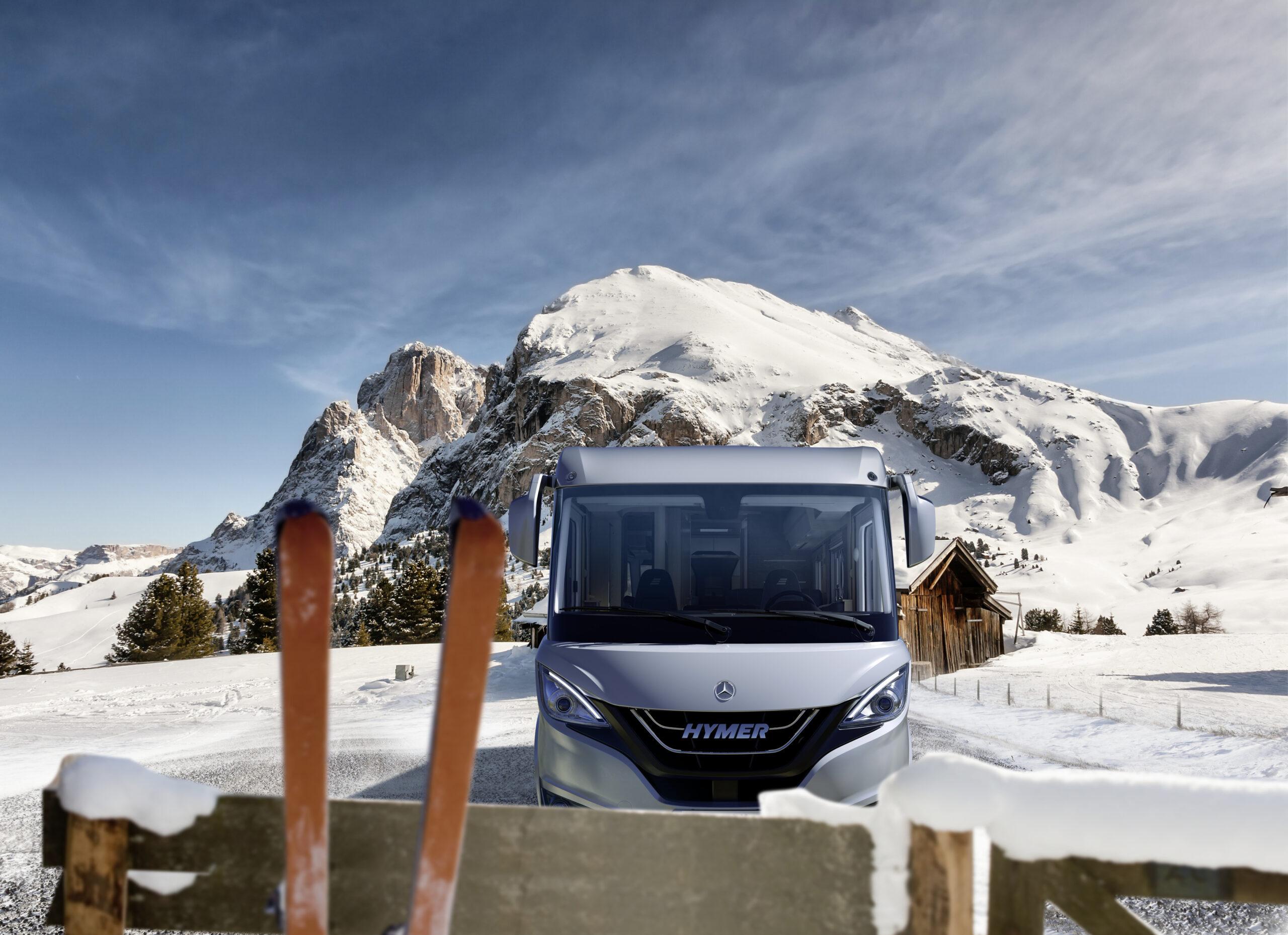 Las mejores estaciones de esquí para ir con autocaravana